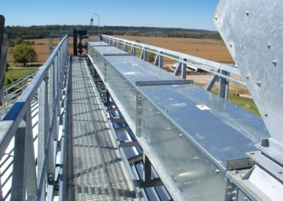 catwalk and material handling system