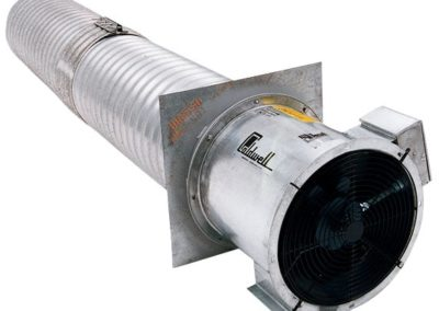 annular corrugated duct