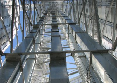 elevator leg sections