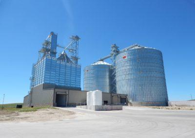 Lemanco modular grain bin