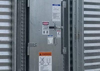 bin door closed